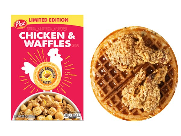 New Chicken & Waffles Cereal