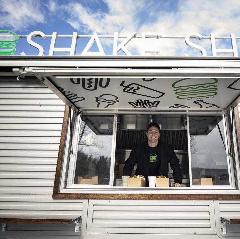 Shake Shack Food Truck Window