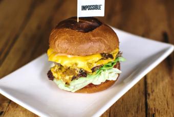 Impossible Burger At Umami Burger