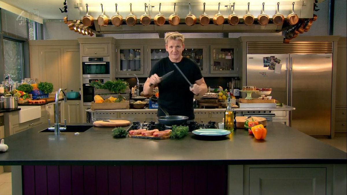 Gordon Ramsey In Action