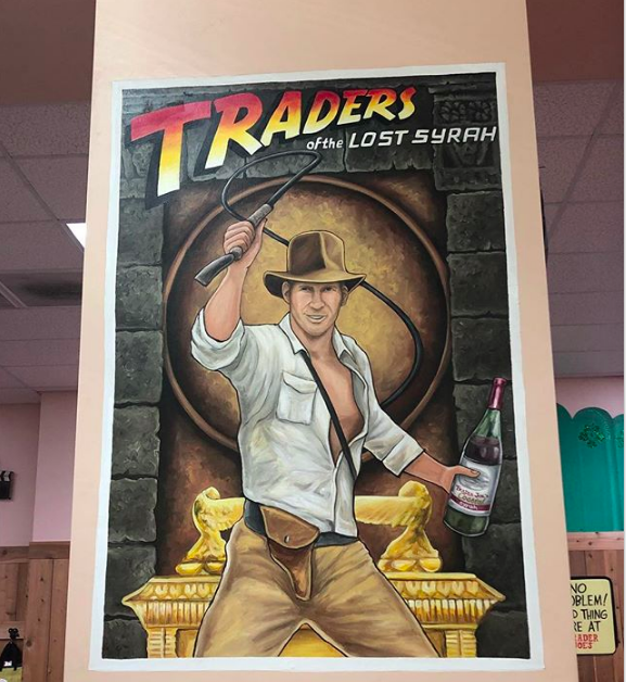 Trader Joe's Themed Movie Posters
