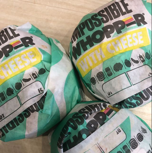 The Impossible Whopper With Cheese
