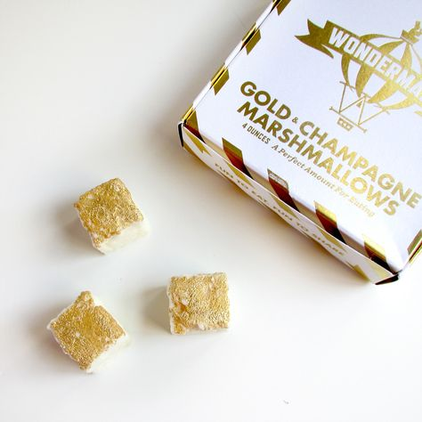 Wondermade Gold + Champagne Marshmallows