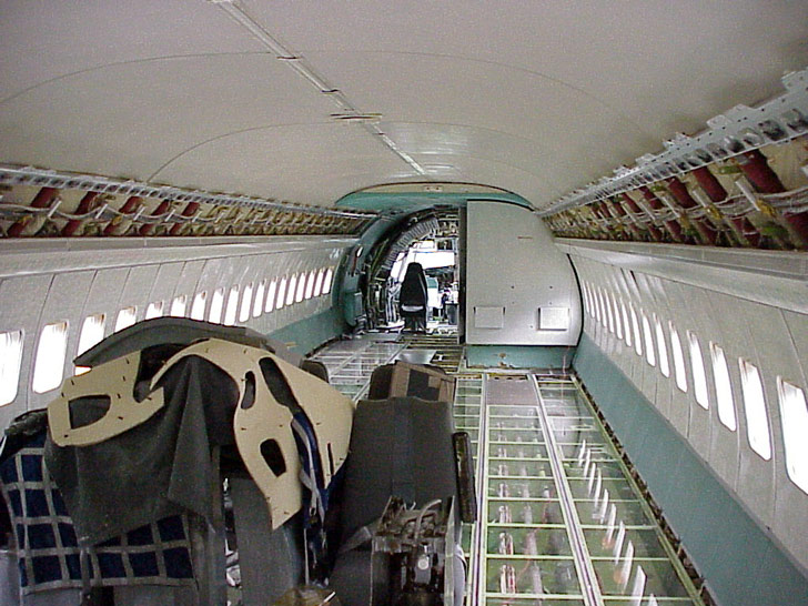 Stripped Out Plane
