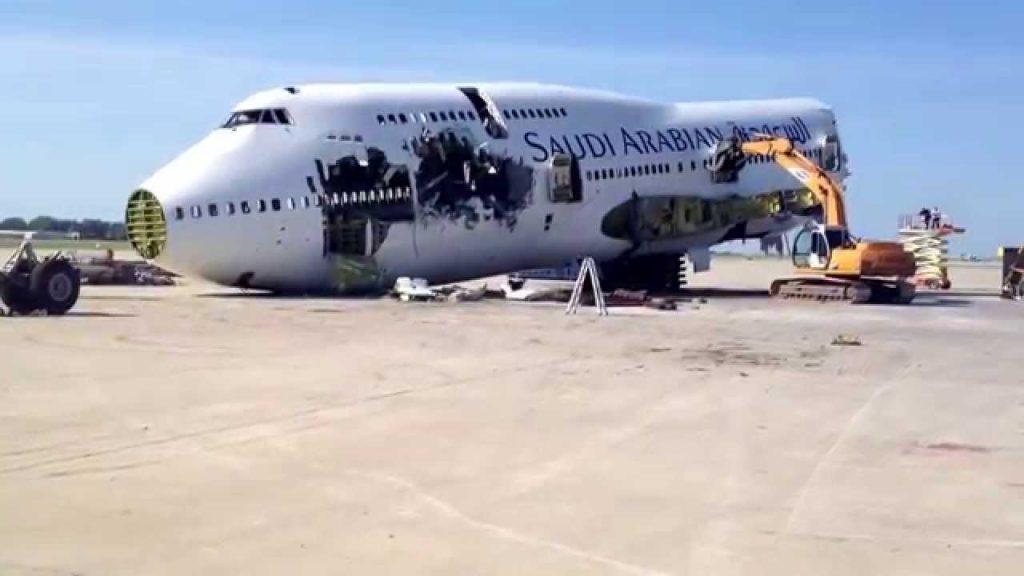 Recycling A Plane