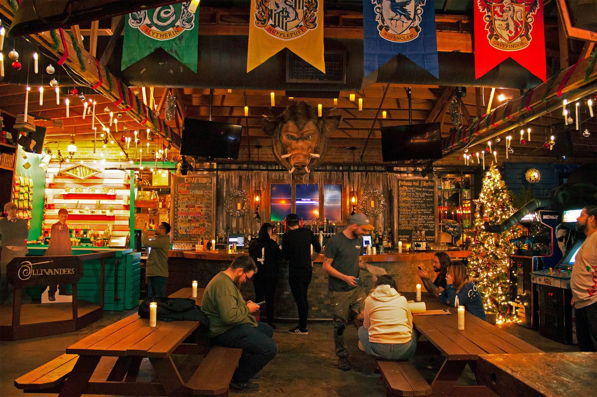 酒吧以前曾举办过《哈利·波特弹出》