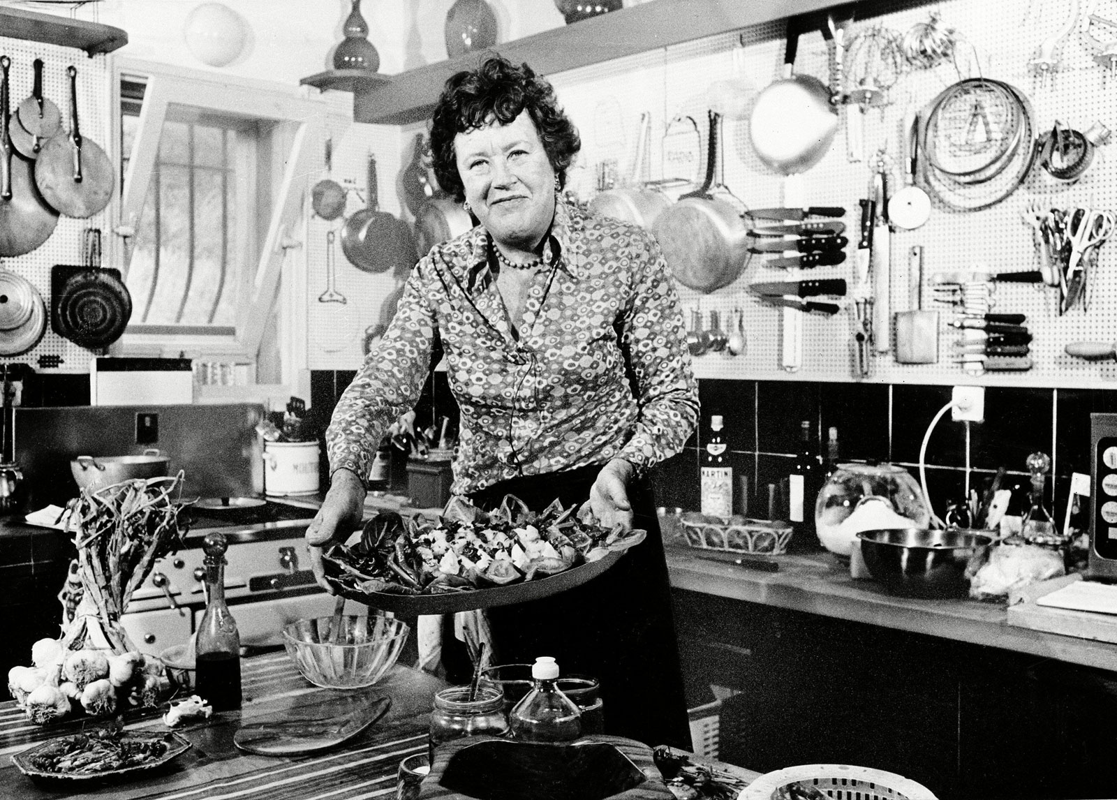Julia Child In Her Kitchen, 1978