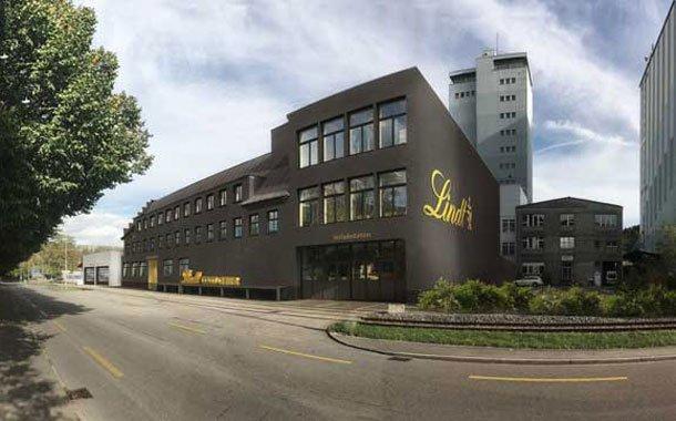 Lindt & Spruengli Factory In Olten
