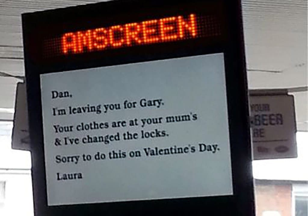 Not What You'd Expect On Valentine's Day