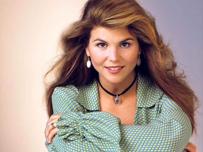 Lori Loughlin Then