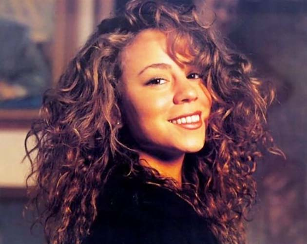 Mariah Carey Then
