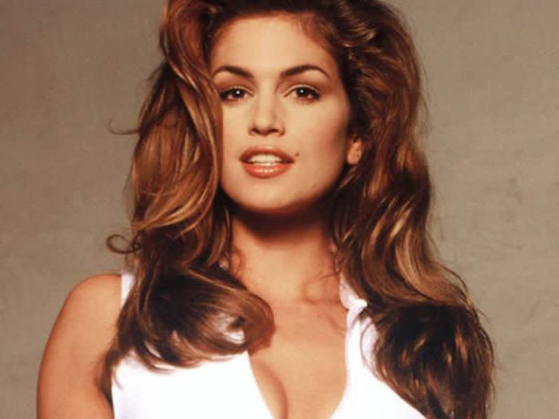 Cindy Crawford Then