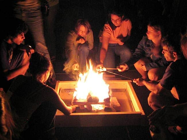 Fire Pit S'mores