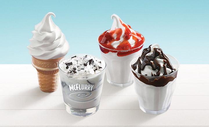 McDonald's Desserts