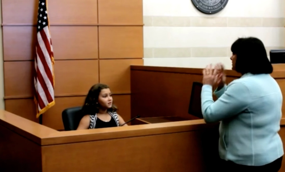 Therapy Dogs In Courtrooms