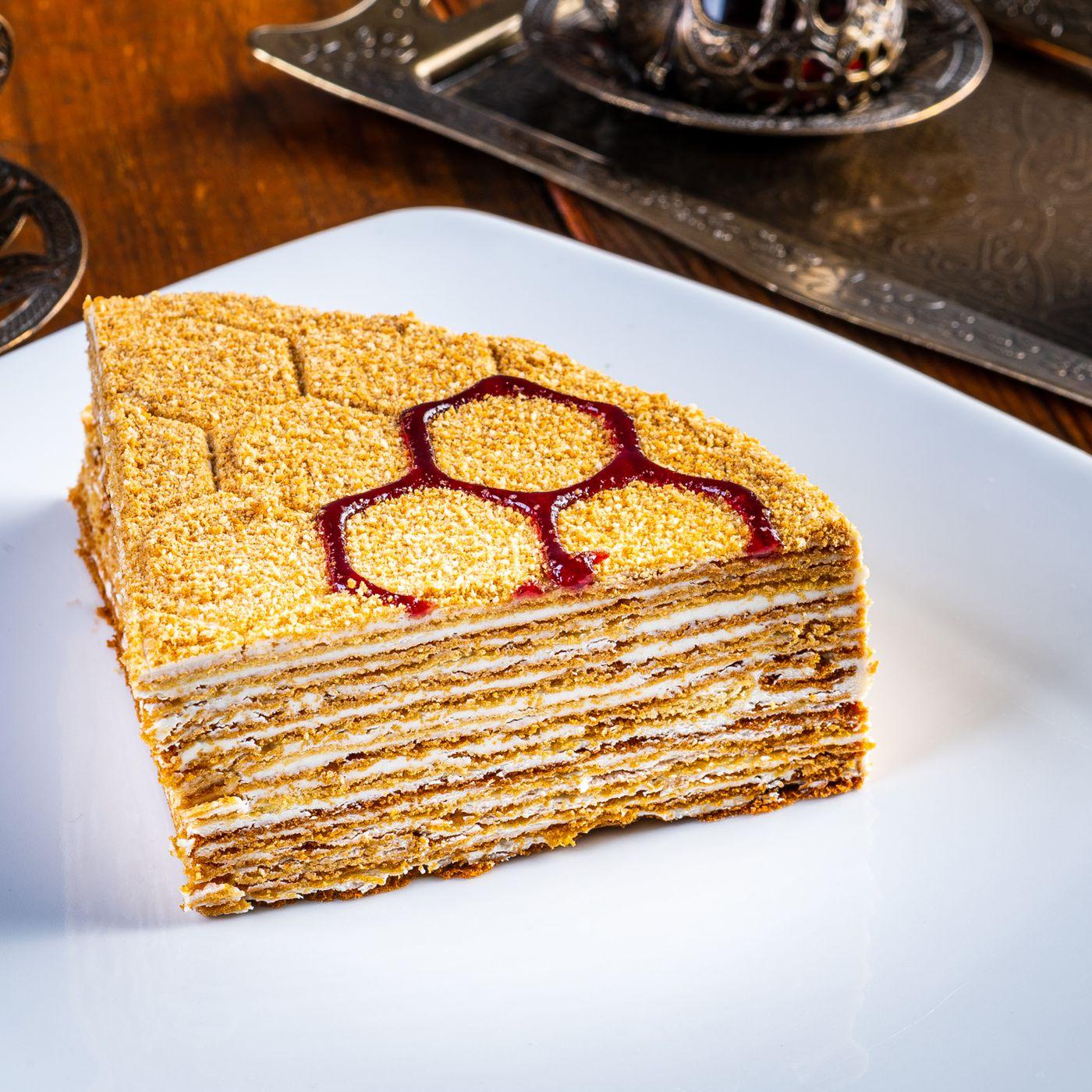 Honey Layer Cake From Sharbat