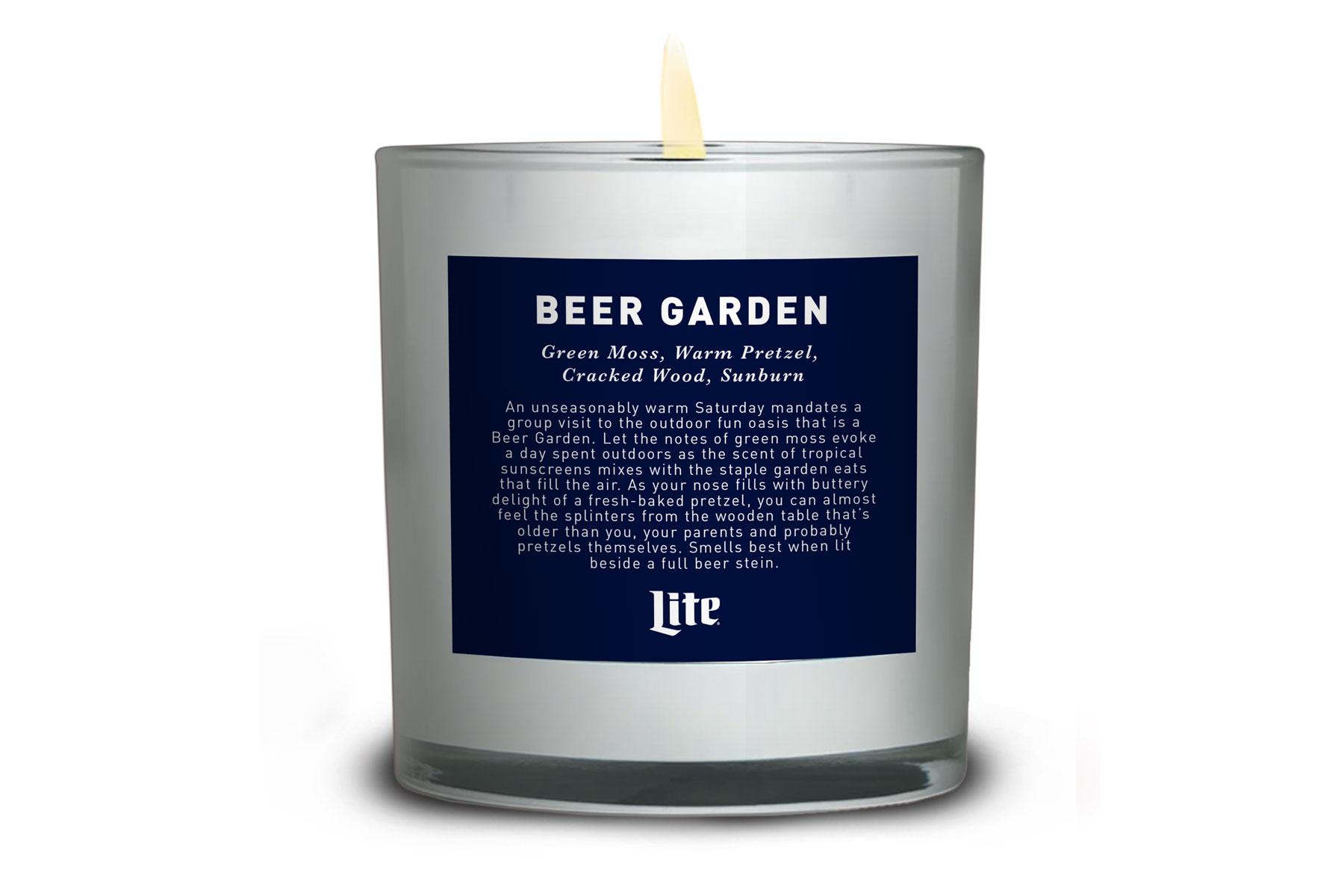 Beer Garden Candle