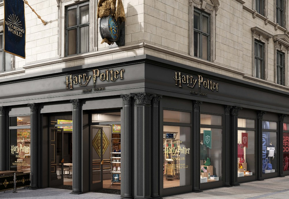 NYC Harry Potter Flagship Store