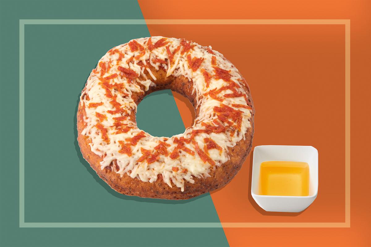 Ten Winners Will Receive Half A Dozen Pizza Doughnuts