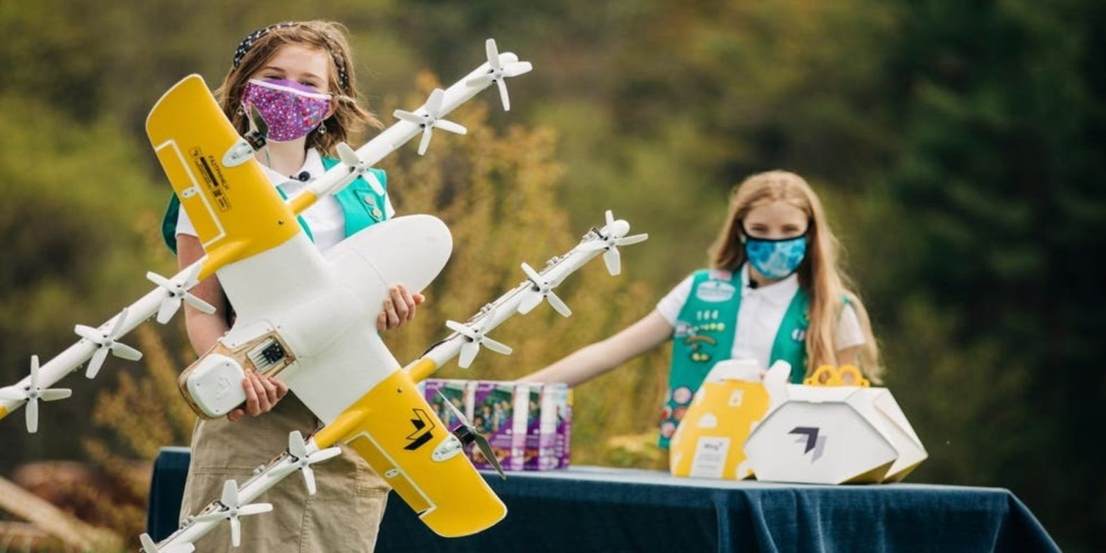 Girl Scout Cookies Get Drone Revamp