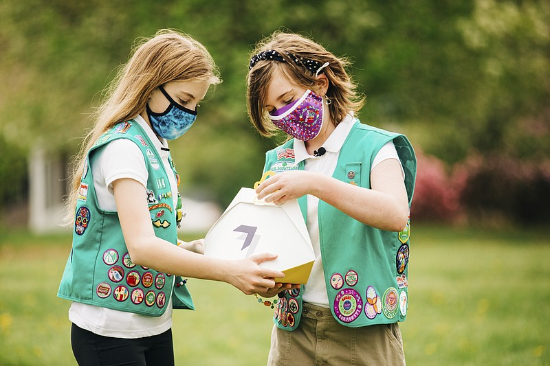 Wing Joines Forces With Girl Scouts
