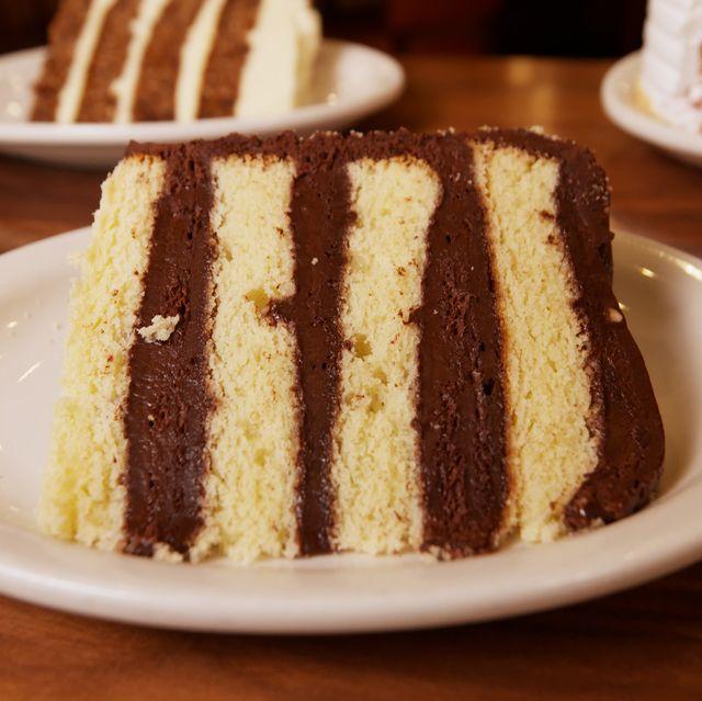 Golden Fudge Layer Cake