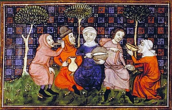 Medieval Almond Milk