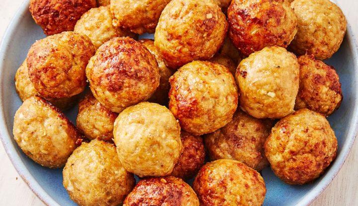Cumin Spiced Chicken Meatballs